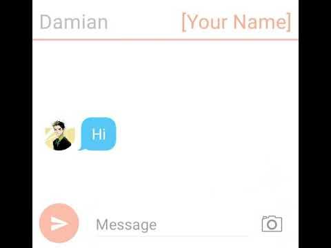 Damian Wayne X Reader text part 1