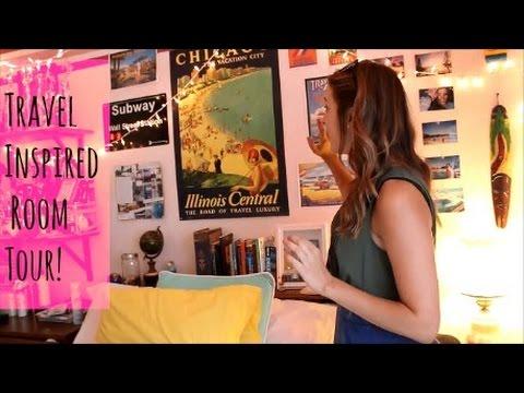 Travel Inspired Room Tour!