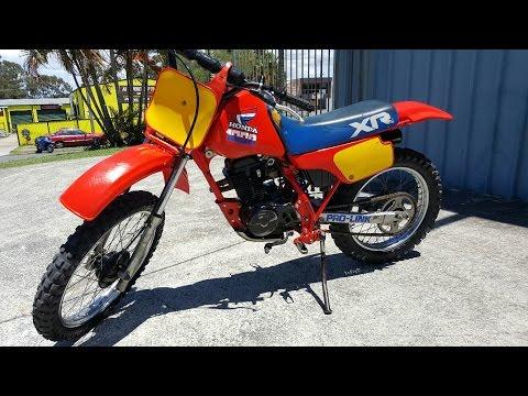 HONDA XR100 1985