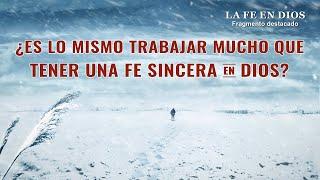 """Película evangélica """"La fe en Dios"""" Escena 5 - ¿Es trabajar arduamente para el Señor la realidad de la fe en Él?"""