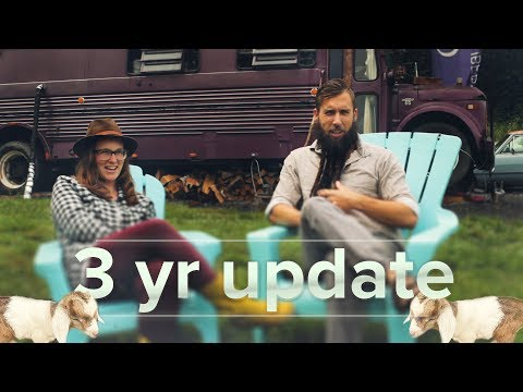 3yr Bus living & life Update from Val & Bryce