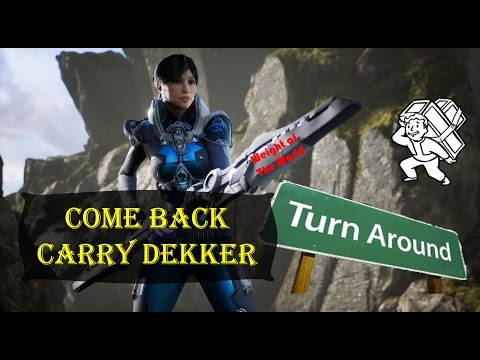 Come Back Carry Dekker - Aussie Paragon