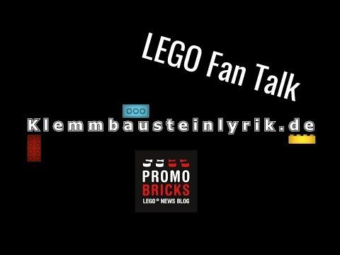LEGO Fan Talk live: Talkshow über aktuelle LEGO-Themen
