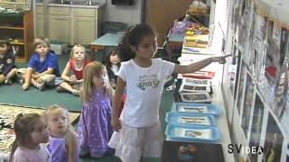 Country Montessori School. Music lesson.
