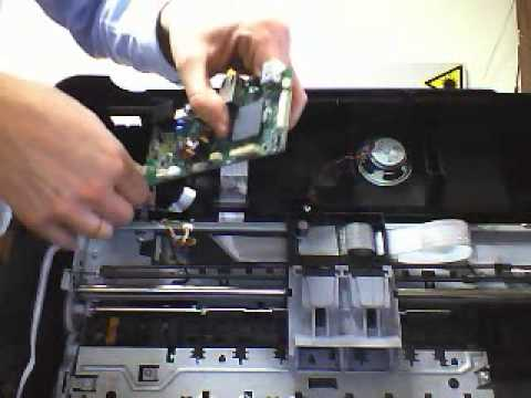 Desmontar Disassembly Officejet 4500 Youtube
