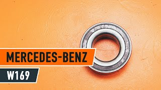Remove Hub bearing MERCEDES-BENZ - video tutorial