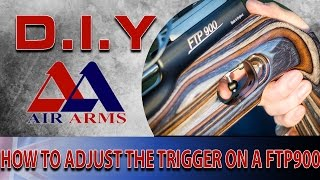 Air Arms D.I.Y: How to Adjust The Trigger On A FTP 900 Air Rifle