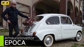 Epoca auto e personaggi. Fiat 600d