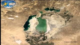 Aral Sea - Animation 1960-2014
