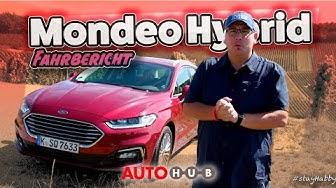 FORD Mondeo Turnier Hybrid 2019 - Test und Fahrbericht