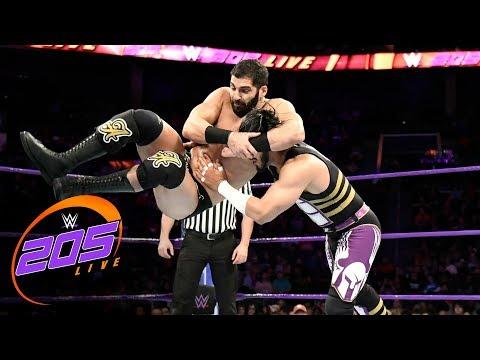 Mustafa Ali vs. Ariya Daivari: WWE 205 Live, Nov. 14, 2017