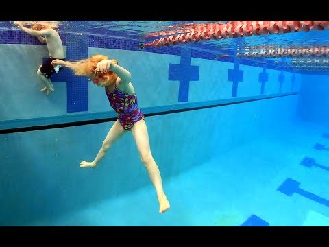 Jumping into the Deep End of the Swimming Pool - 동영상
