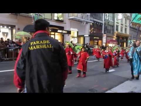 San Francisco Chinese New Year Parade 2014 Jose Ortega Elementary School