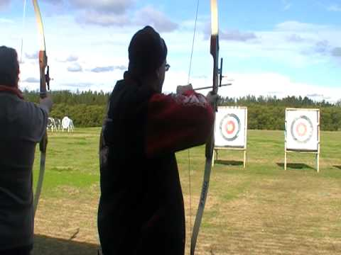 Kevin And David Shooting In Sydney Olympic Park Archery Centre Part 4