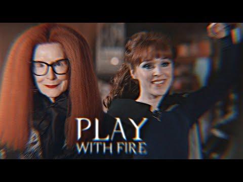 Myrtle Snow & Rowena MacLeod • Play With Fire • AHS & SPN [+dedications]