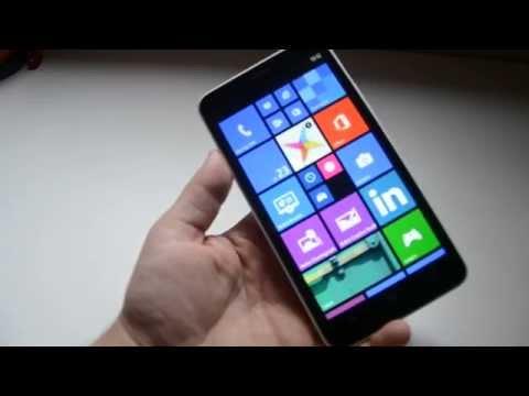 Nokia Lumia 1320, Análisis en español