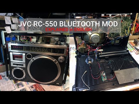 How To Install Bluetooth On JVC RC-550 Aka El Diablo Explained In English