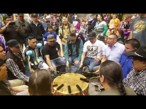 Blackfoot Confederacy Singers Kyi Yo 2017 Saturday Afternoon Session