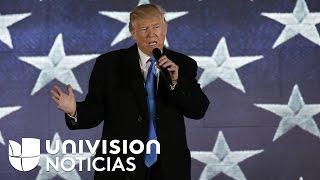 Aunque todavía no ha tomado posesión de su cargo, Trump ya tiene puesta la mirada en las elecciones