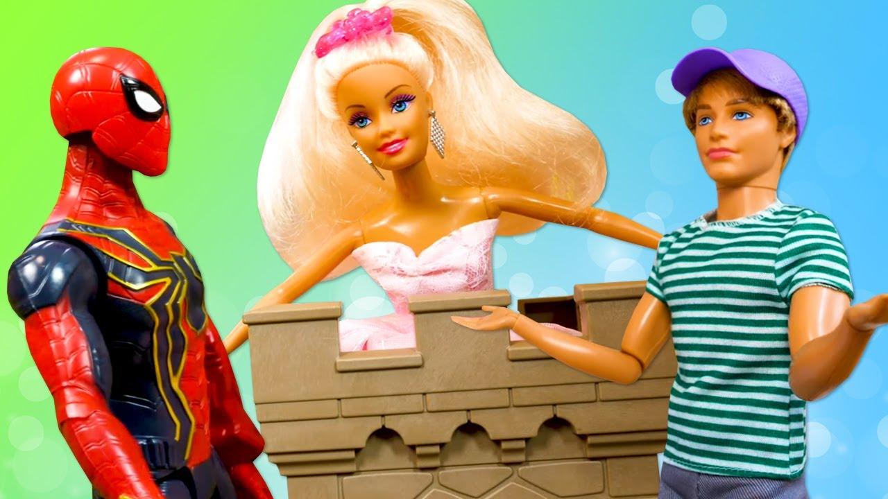 Почему Супергерои не нужны Кукле Барби? Принцесса в замке ...