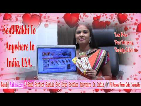 Send Rakhis Online To Any Where In India, USA, Abroad Free Shipping Low Prices