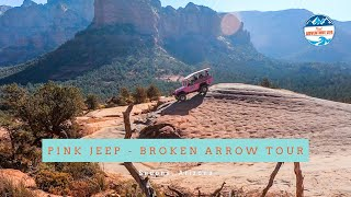 Pink Jeep Tour - One of the Best Off Roading Tours in Sedona, AZ