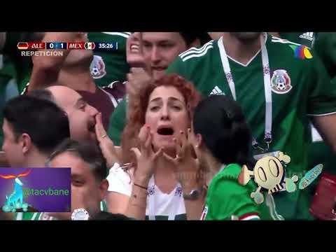 Alemania vs México El Golazo del chucky Lozano/ Mundial Rusia @ TV AZTECA DEPORTES