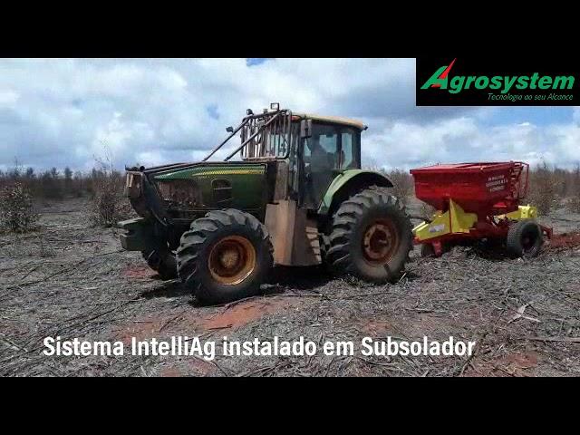 Sistema IntelliAg ISOBUS no plantio de eucalipto.