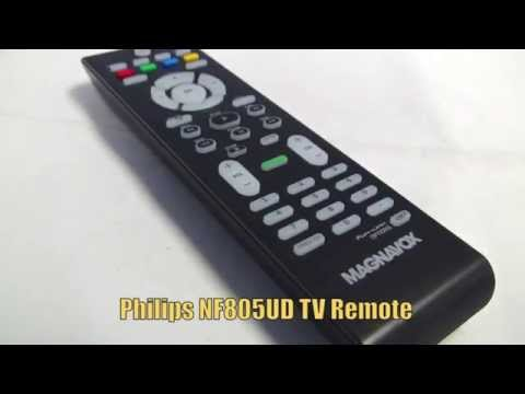 PHILIPS NF805UD TV Remote Control - Www.ReplacementRemotes.com