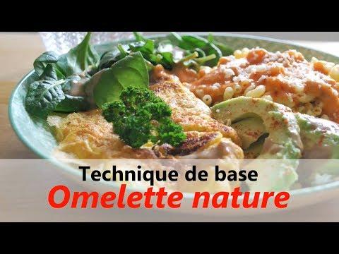 RECETTE facile & rapide : Omelette - Riche en protéines & DHA