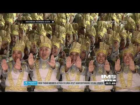 Penampilan Ribuan Penari Berhasi Memukau Penonton Opening Ceremony Asian Games 2018