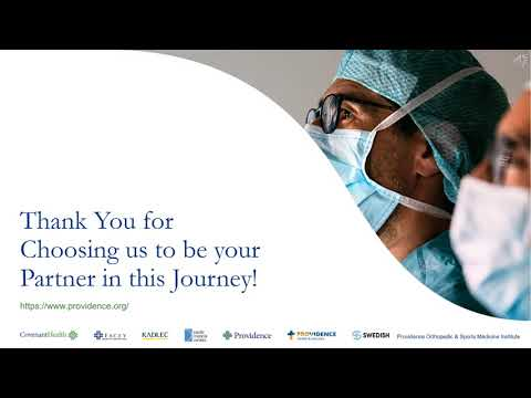 Joint Replacement Surgery Patient Education: Closing