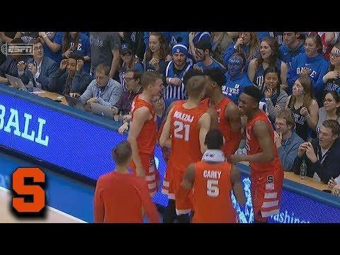 Big Jim - At Work - WATCH: SU's Elijah Hughes Hits a Doozy of a Buzzer Beater Against Duke