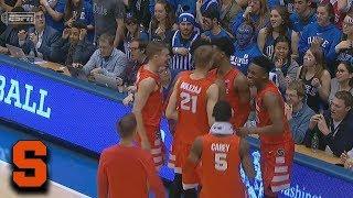 Syracuse's Elijah Hughes Hits Full Court Buzzer-Beater