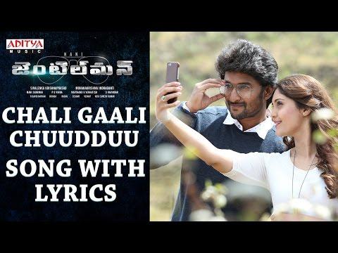 Chali Gaali Chuudduu Song With Lyrics || Gentleman Songs || Nani,Surabhi,NivedaThomas,Mani Sharmaa