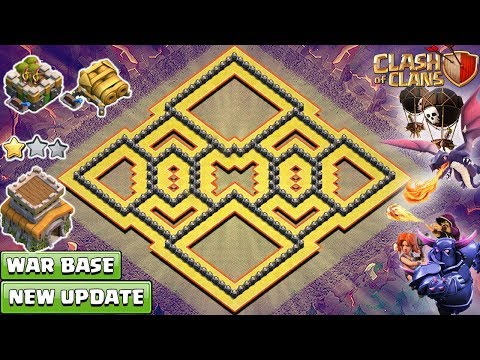 NEW Clash of Clans Town Hall 8 (TH8) War Base 2018 !! NEW TH8 Base [DEFENSE] – Clash of Clans