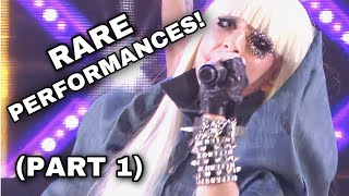 Lady Gaga - Live Performances You Probably DIDN'T Know Existed! [Part 1] (2020)