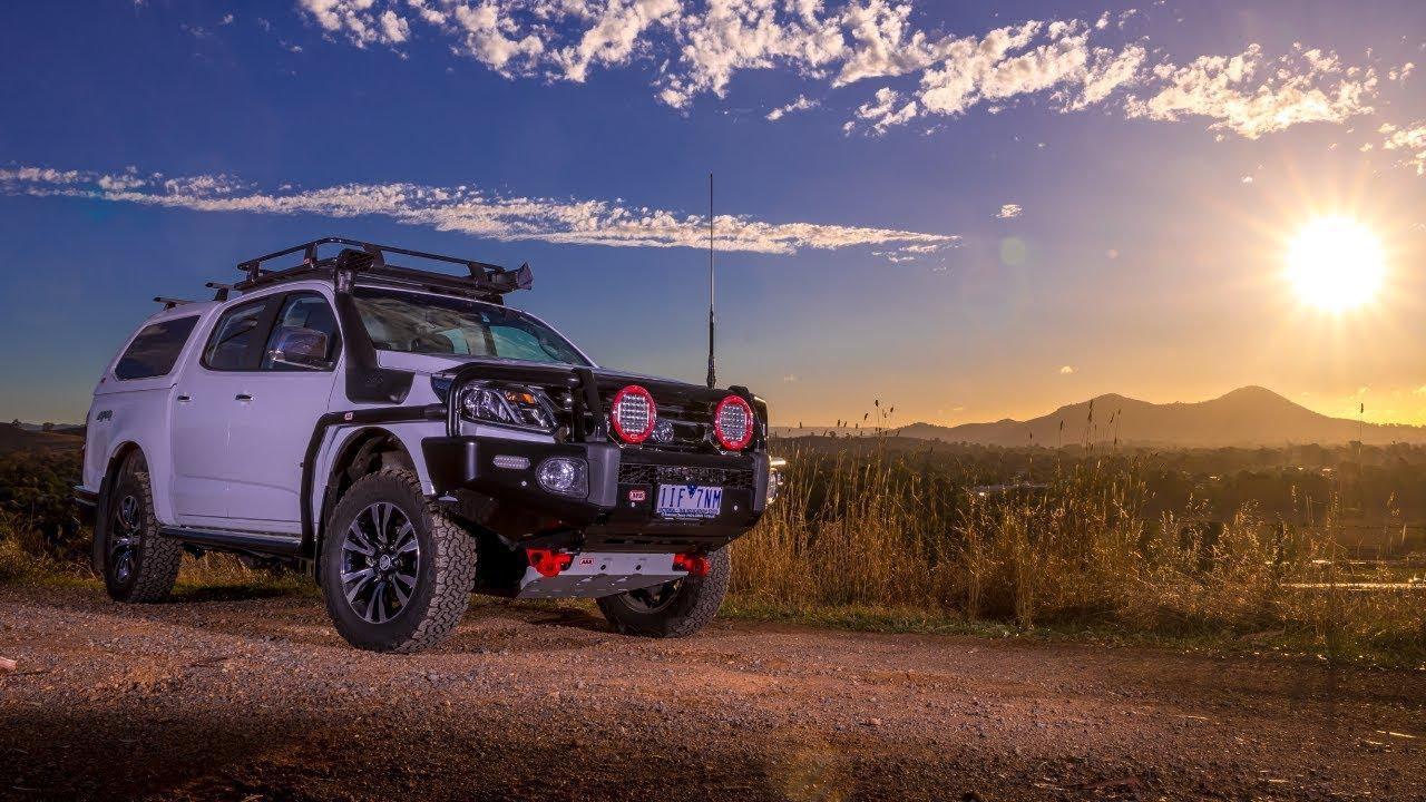 ARB Holden Colorado - YouTube