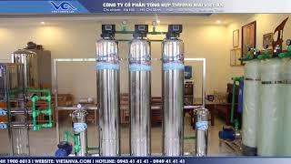 [Việt An] Video Hệ thống dây chuyền lọc nước VA-IA1000 Inox 1000 lít/h – autovan