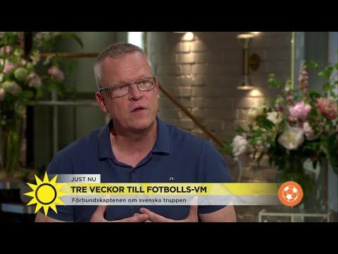 Janne Andersson inför VM: Därför är jag inte nervös - Nyhetsmorgon (TV4)