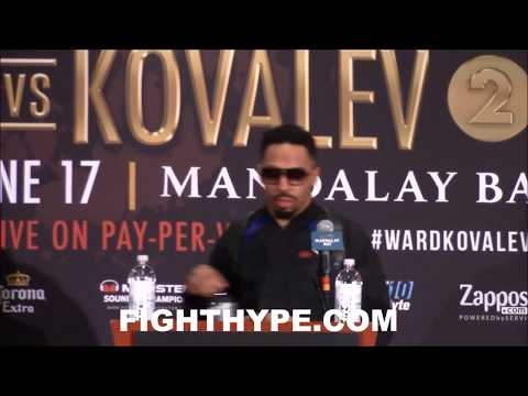 ANDRE WARD VS. SERGEY KOVALEV 2 FULL OFFICIAL POST-FIGHT PRESS CONFERENCE