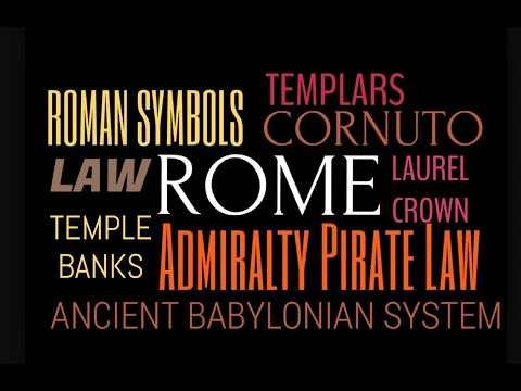 Symbols in Rome | Roman Law | Lucifer's Admiralty Piracy | cornuto | UN NWO Agenda