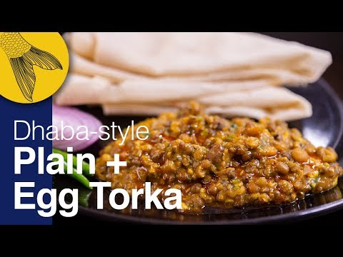 Bengali Egg Tadka/Veg Tarka Fry—Easy, Perfect Dhaba-style—Kolkata Street Food Recipes
