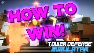 Roblox Tower Defense Simulator - BEST UNITS! [HOW TO WIN]