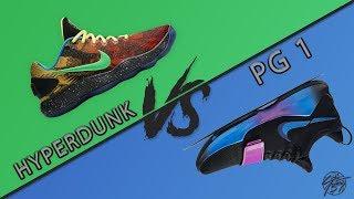 Nike Hyperdunk 2017 Low vs PG 1!