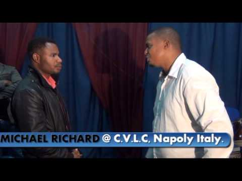 Pastor Michael Richard with CHRIST VICTORY LIFE CHURCH NAPOLY ITALY Part 3