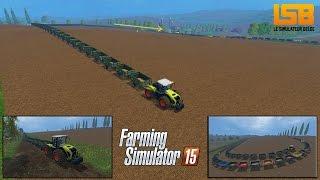 [DÉFIS] Assemblage de 150 remorques (1.275.000L) | Farming Simulator 15 | Trailers fun