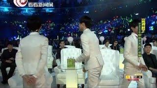 2015东方风云榜:金星学跳TFBOYS经典舞蹈