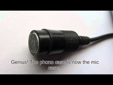 Genius Blues Harp Microphone Idea.