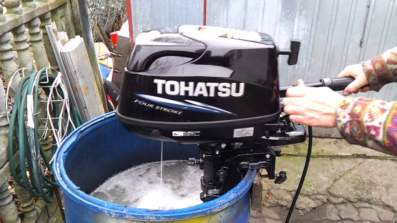 2012 Tohatsu 6 Hp Outboard Motor 4 Stroke 4 Suw Youtube